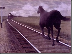 007 Horse and Train